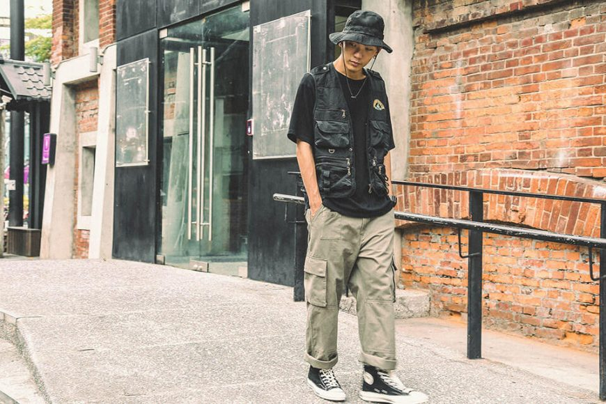 B-SIDE 19 SS Heavy Washed M Chino (2)