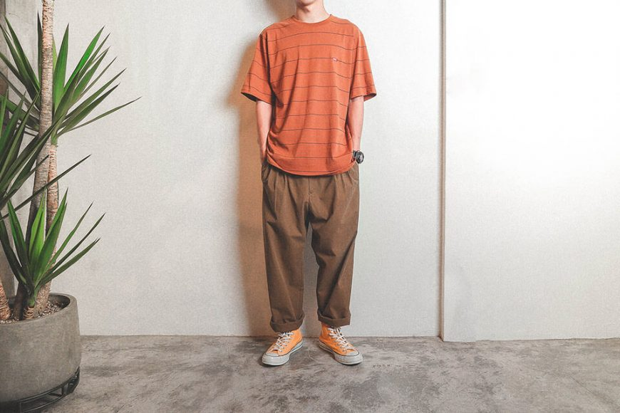 B-SIDE 19 SS Wide Cut Stripe Tee (3)