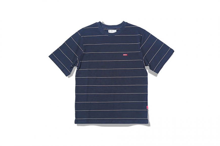 B-SIDE 19 SS Wide Cut Stripe Tee (5)