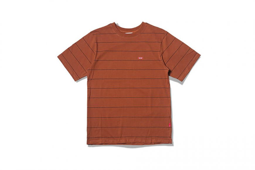 B-SIDE 19 SS Wide Cut Stripe Tee (7)