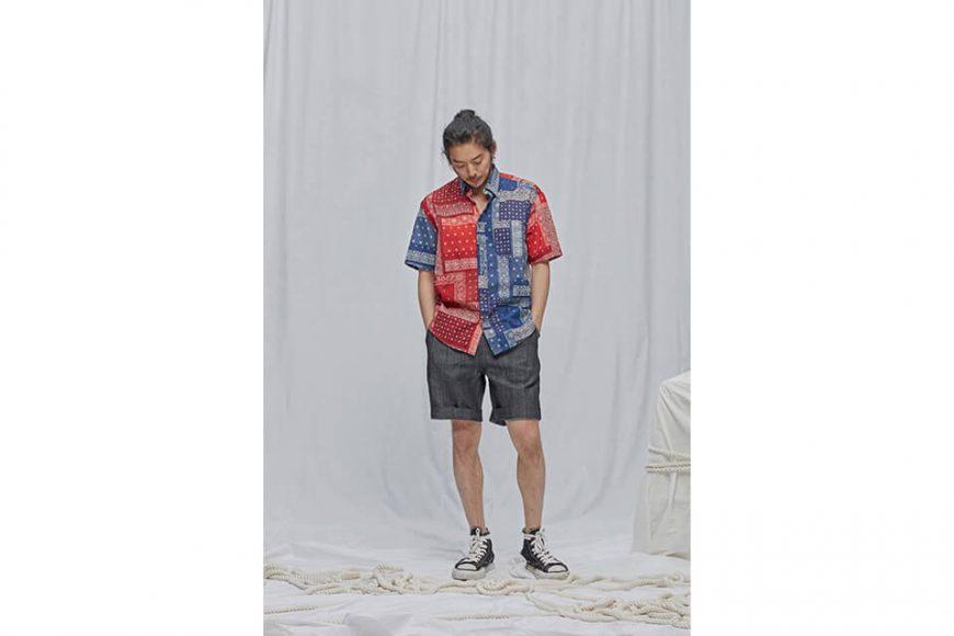 FrizmWORKS 19 SS Bandana Half Shirt (2)