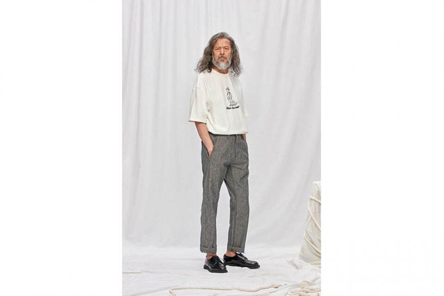 FrizmWORKS 19 SS Chambray Selvedge Banding Pants (2)