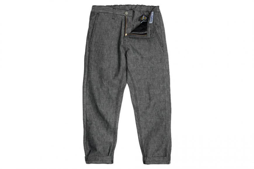 FrizmWORKS 19 SS Chambray Selvedge Banding Pants (4)