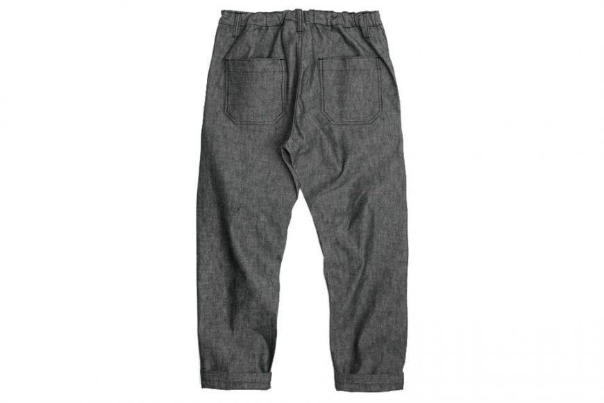 FrizmWORKS 19 SS Chambray Selvedge Banding Pants (5)