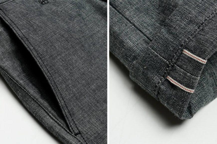 FrizmWORKS 19 SS Chambray Selvedge Banding Pants (7)