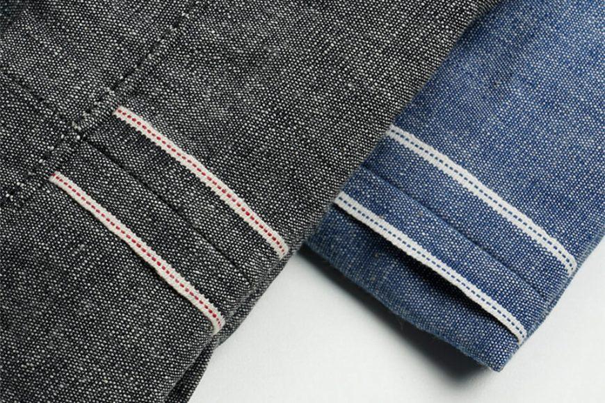 FrizmWORKS 19 SS Chambray Selvedge Banding Pants (8)