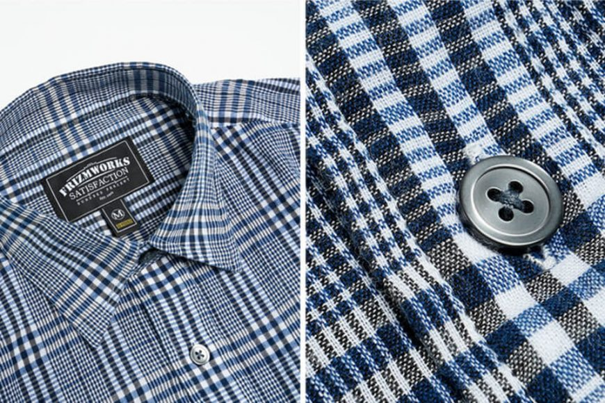 FrizmWORKS 19 SS Mild Check Shirt (14)