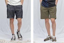 FrizmWORKS 19 SS Two Tuck Wide Shorts (1)