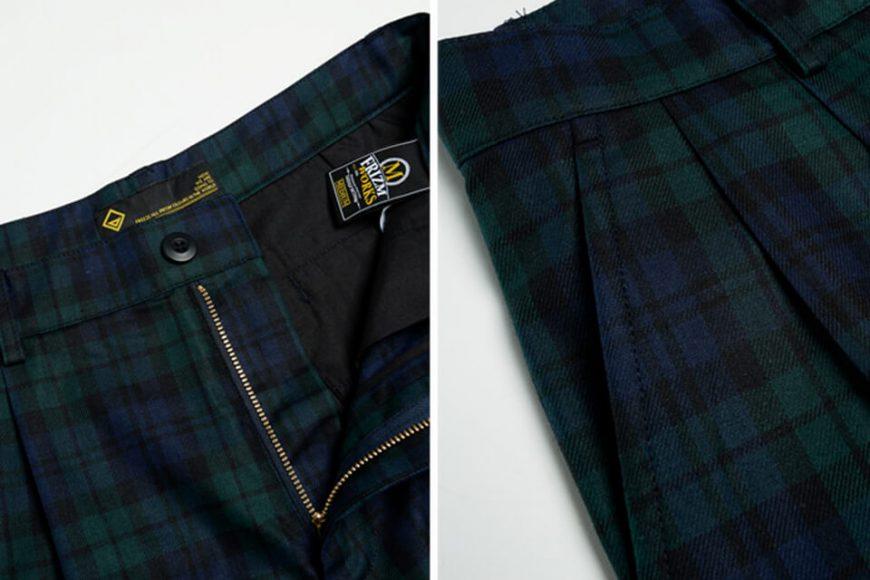 FrizmWORKS 19 SS Variation Check Short Pants (6)