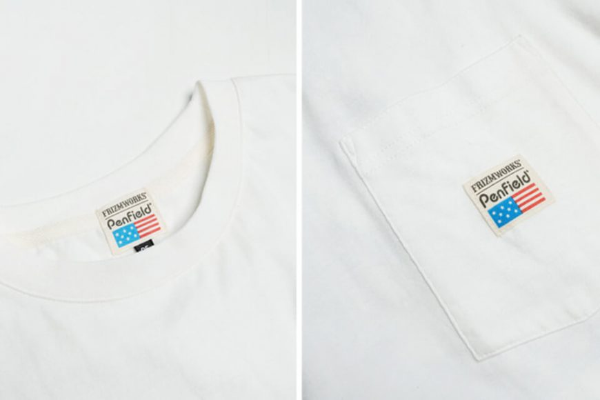 FrizmWORKS x PENFIELD 19 SS Mountain Pocket Tee (17)