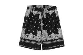 NEXHYPE 19 SS SLF Paisley Pattern Short Pants (5)