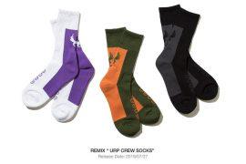 REMIX 19 SS URP Crew Socks (1)