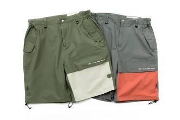 TMCAZ 19 SS Patchwork Cargo Shorts (1)
