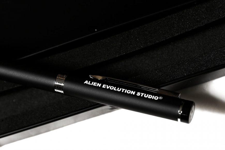 AES 19 SS Pen Pencil Case Set (4)