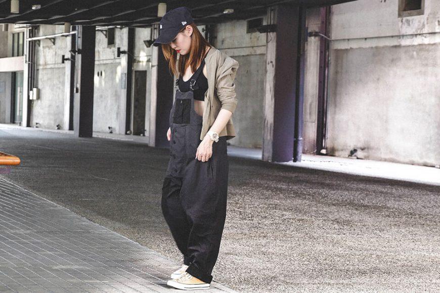 B-SIDE 19 SS Military Overalls (1)