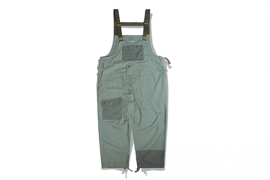 B-SIDE 19 SS Military Overalls (12)