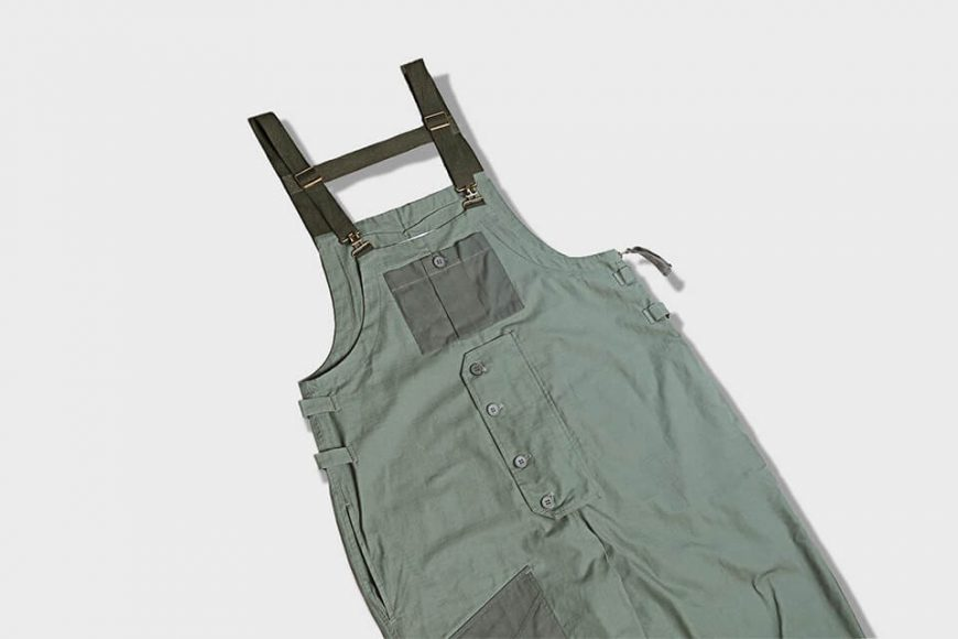 B-SIDE 19 SS Military Overalls (14)