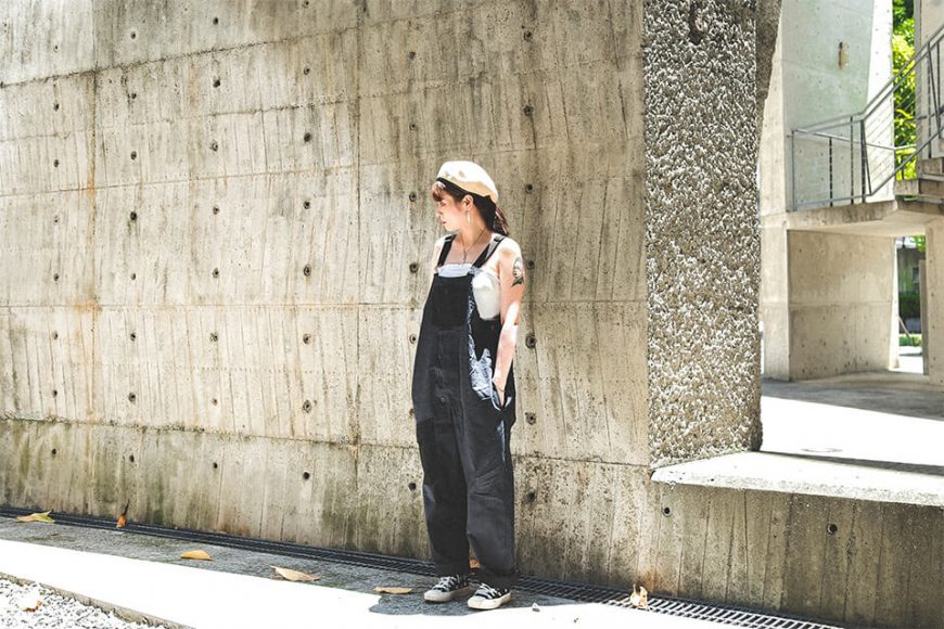 B-SIDE 19 SS Military Overalls (2)