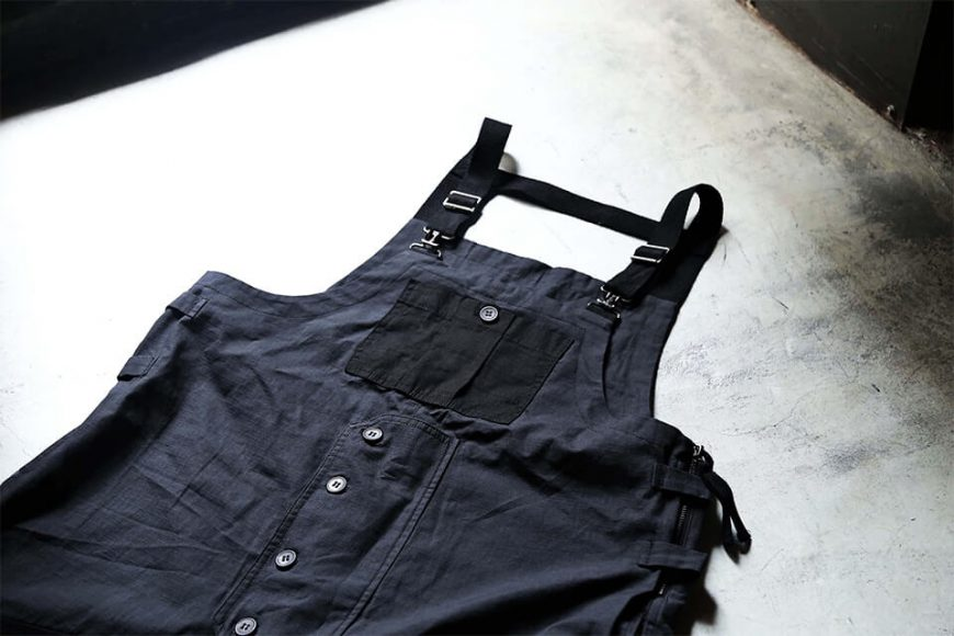 B-SIDE 19 SS Military Overalls (6)