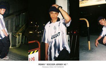 REMIX 19 SS RMX Soccer Jersey#2 (0)