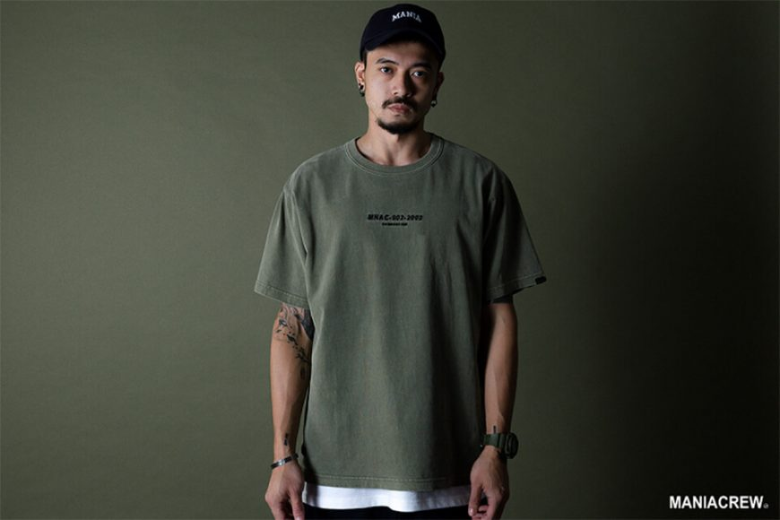 MANIA 19 SS Embroidery Tee (2)