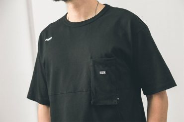 B-SIDE 19 AW 3D Pocket Tee (1)