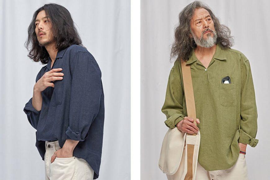 FrizmWORKS 19 FW Linen Pullover Shirt (1)