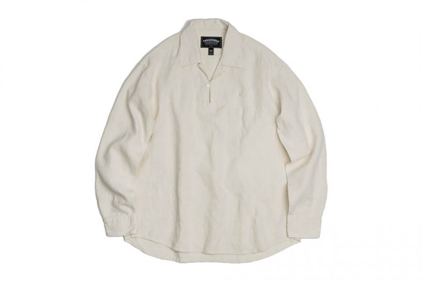 FrizmWORKS 19 FW Linen Pullover Shirt (17)