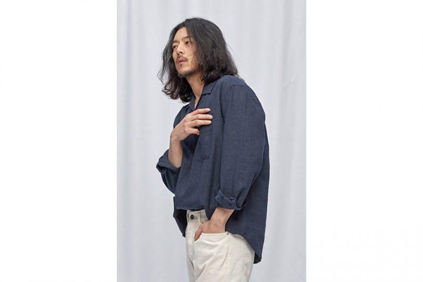 FrizmWORKS 19 FW Linen Pullover Shirt (3)