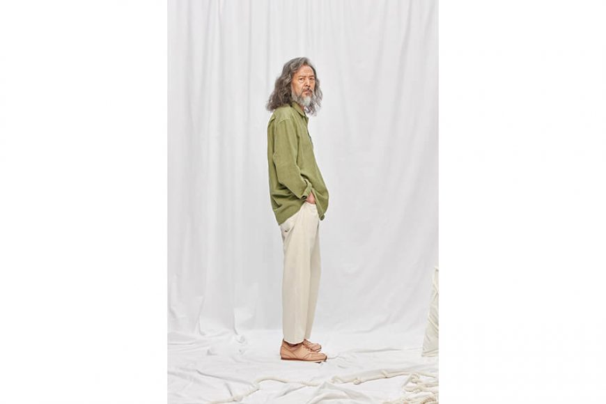 FrizmWORKS 19 FW Linen Pullover Shirt (4)