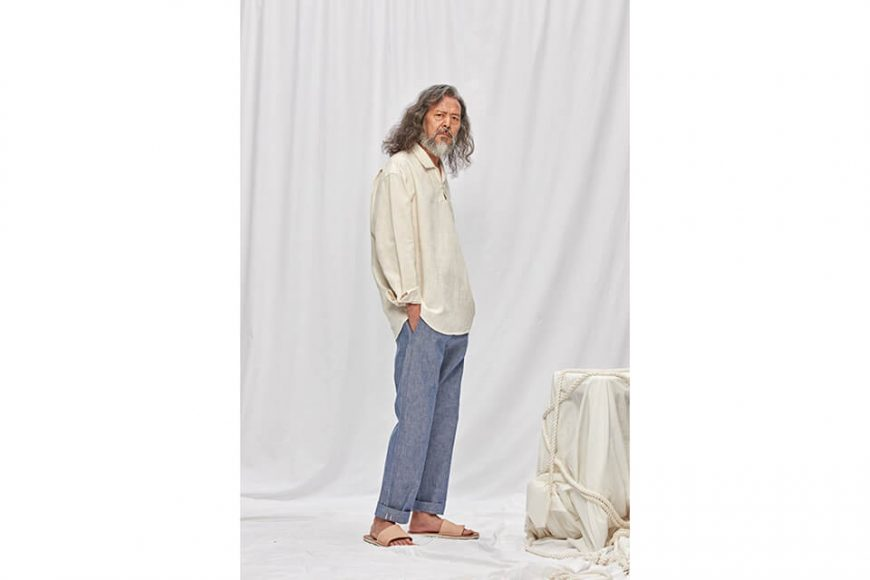 FrizmWORKS 19 FW Linen Pullover Shirt (6)