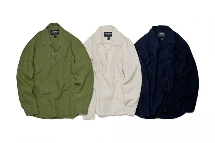 FrizmWORKS 19 FW Linen Pullover Shirt (8)