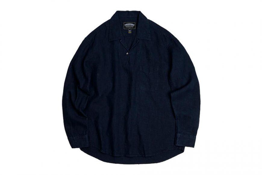 FrizmWORKS 19 FW Linen Pullover Shirt (9)