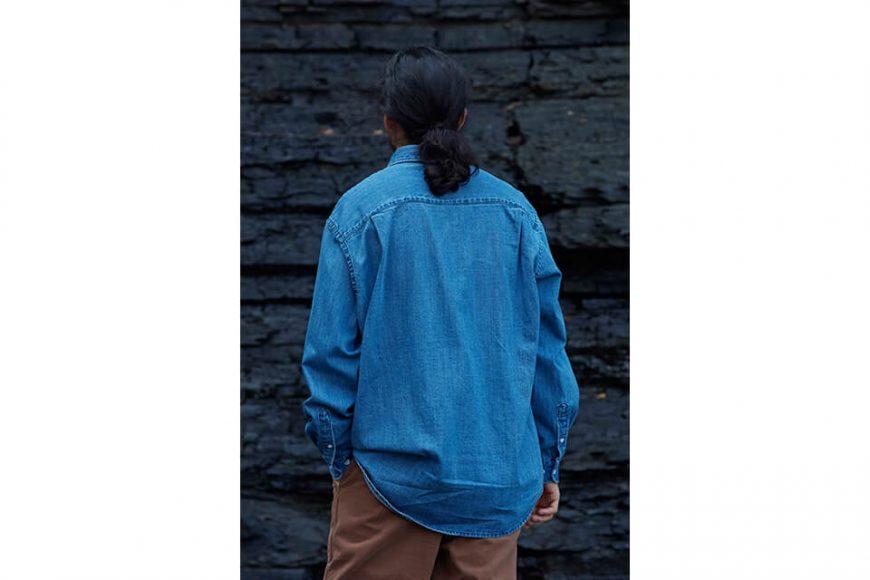 FrizmWORKS 19 FW Oversized Denim Shirt (5)