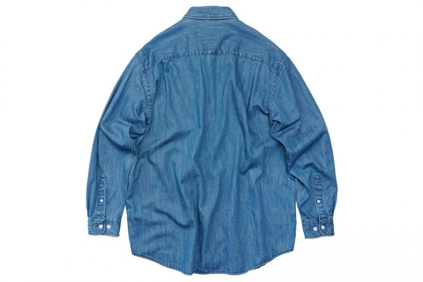FrizmWORKS 19 FW Oversized Denim Shirt (8)