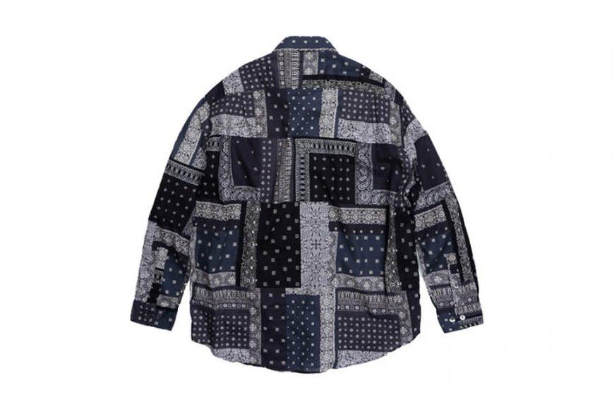 FrizmWORKS 19 SS Bandana Relax Shirt (10)