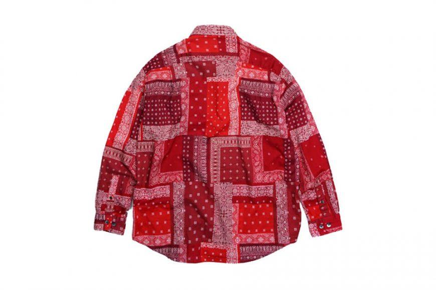FrizmWORKS 19 SS Bandana Relax Shirt (18)