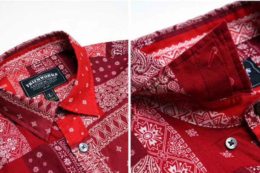 FrizmWORKS 19 SS Bandana Relax Shirt (19)