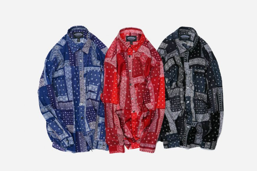 FrizmWORKS 19 SS Bandana Relax Shirt (8)