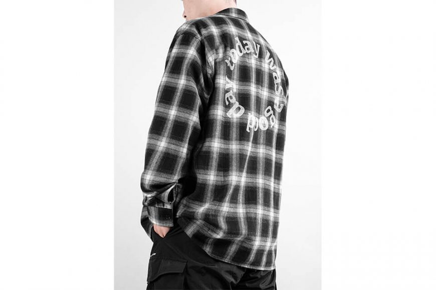 NEXHYPE 19 FW Crazy Check Flannel Shirt (4)