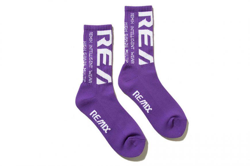 REMIX 19 AW Bleed Crew Socks LTD for RayRay (16)