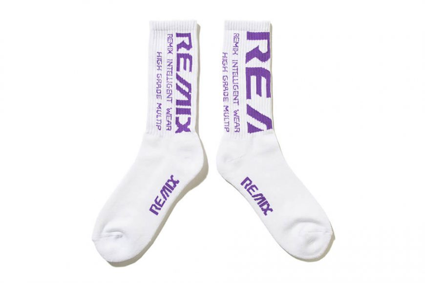 REMIX 19 AW Bleed Crew Socks LTD for RayRay (17)