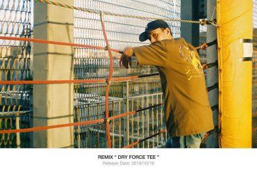REMIX 19 AW Dry Forace Tee (1)