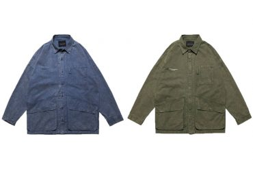 AES 19 AW Washed Work Shirts (0)