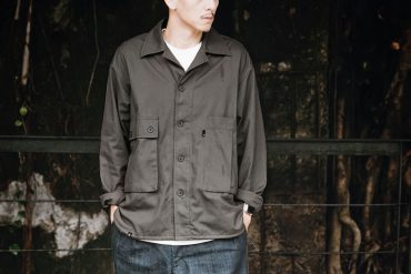 B-SIDE 19 AW Deconstructed Field Jacket (1)