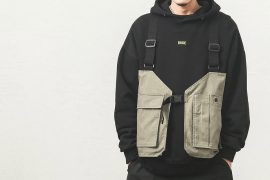 B-SIDE 19 AW Deconstructed Vest (1)