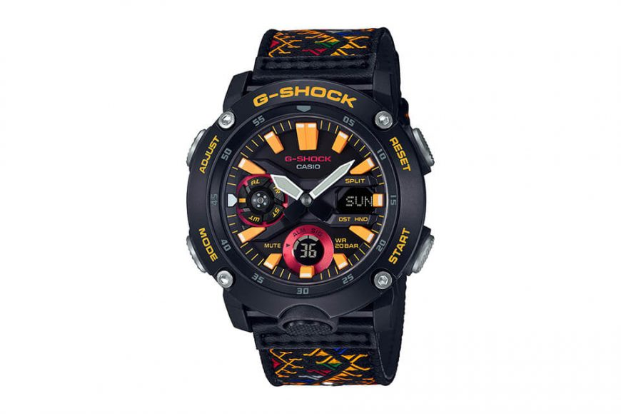 CASIO G-SHOCK GA-2000BT-1ADR (2)