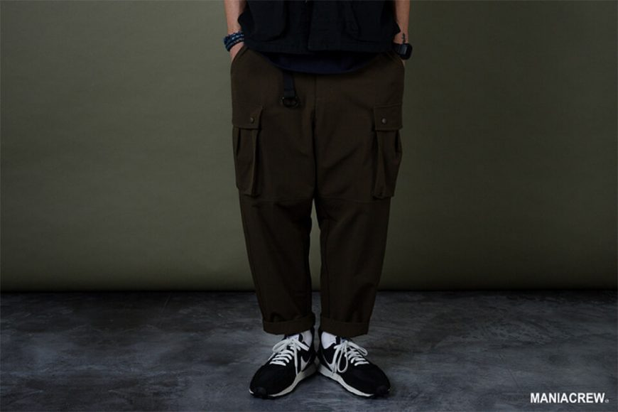 MANIA 19 AW Resiliently Cargo Pants (12)