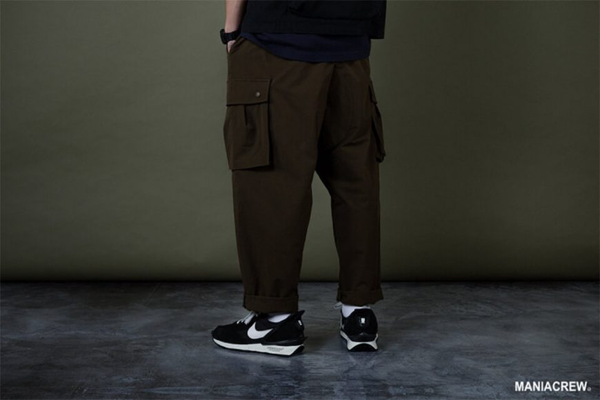 MANIA 19 AW Resiliently Cargo Pants (13)