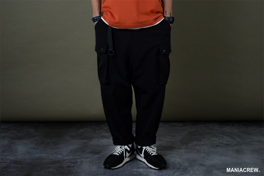 MANIA 19 AW Resiliently Cargo Pants (4)